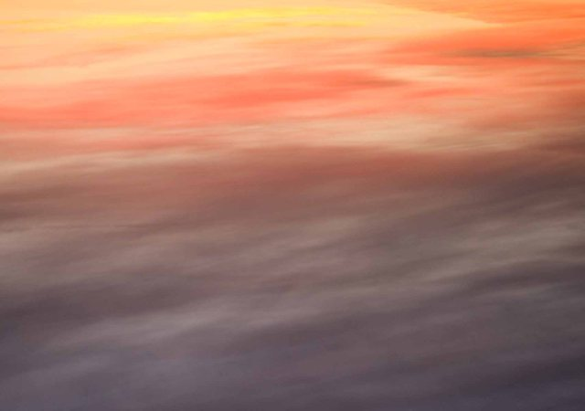inverted sunset