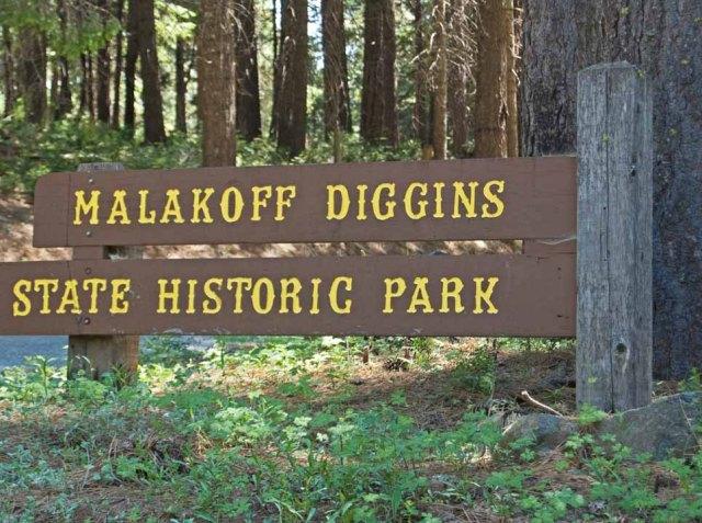 Malakoff Diggins sign
