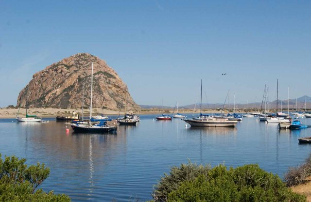 Morro Rock and Bay